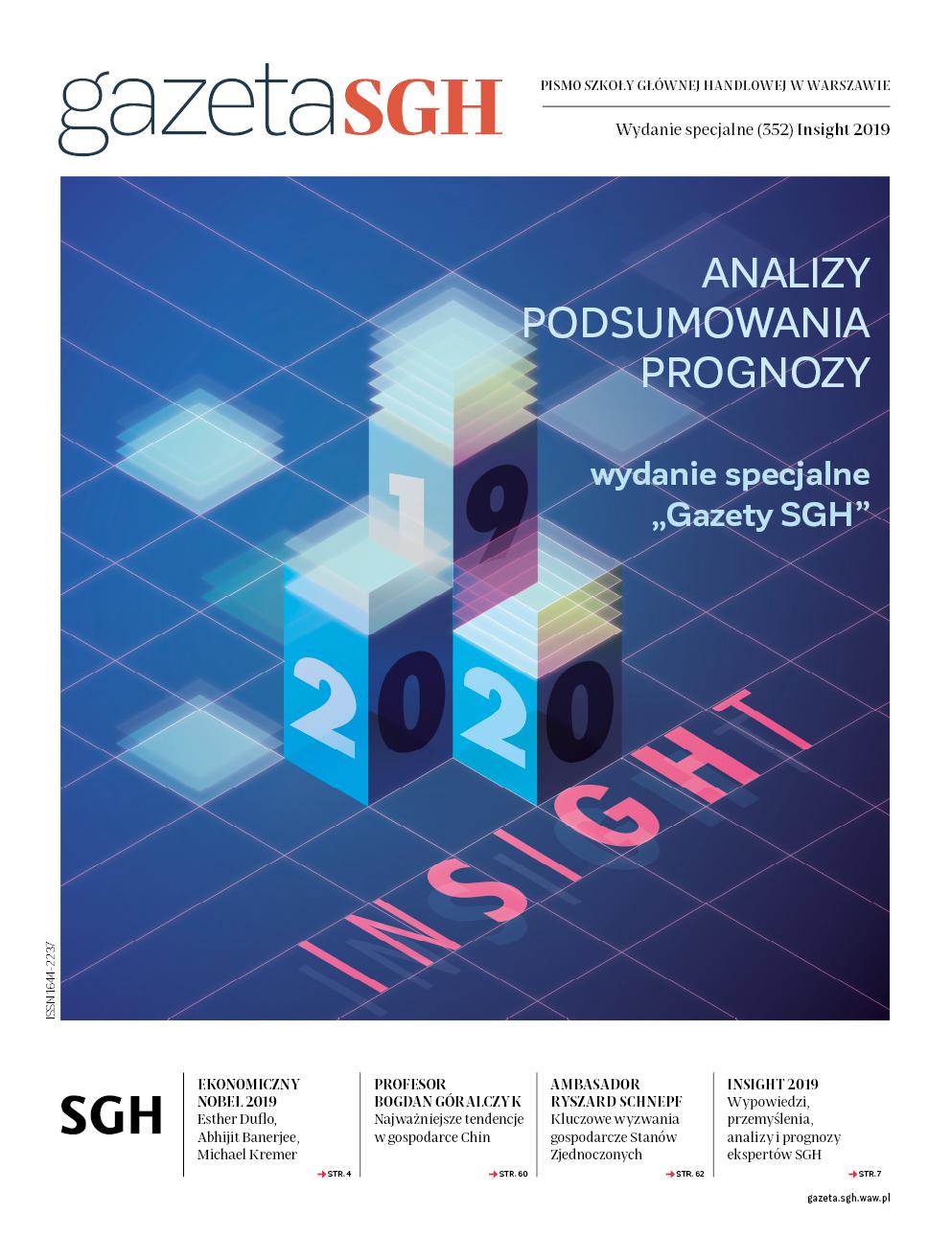 Insight 2019 wydanie specjalne okładka