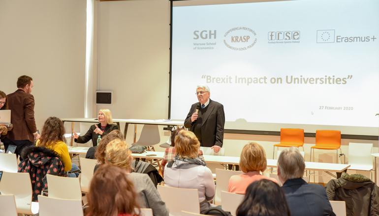 O brexicie i uczelniach