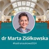 Dr Marta Ziółkowska