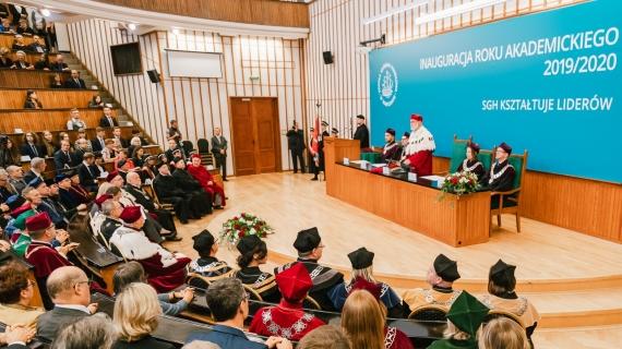 114. inauguracja roku akademickiego w SGH