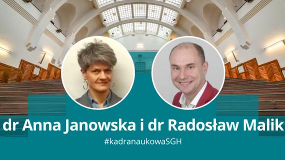Dr Anetta Anna Janowska, dr Radosław Malik