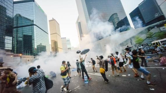 Co się dzieje w Hongkongu?