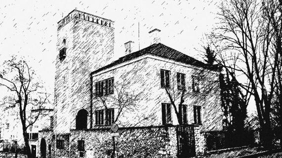 Dom z wieżą – tak blisko SGH i tak daleko