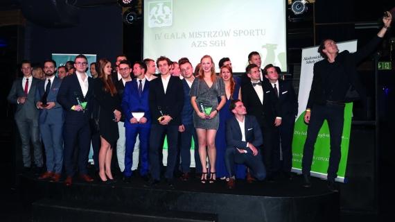 IV Gala Mistrzów Sportu AZS SGH