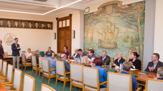 Spotkanie zespołu wdrażającego strategię HRS4R w SGH. FOT. ARCHIWUM SGH/MACIEJ GÓRSKI